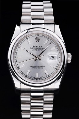 Stainless Steel Band Top Quality Silver Datejust Luxury Watch 5246 Replica Rolex Datejust