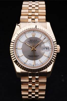 Gold Stainless Steel Band Top Quality Gold Datejust Luxury Watch 5250 Replica Rolex Datejust