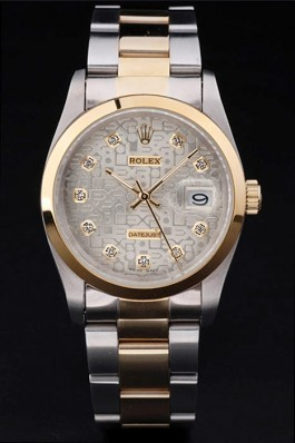 Stainless Steel Band Top Quality Rolex Luxury Gold Watch 5260 Replica Rolex Datejust