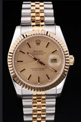 Gold Top Quality Gold Datejust Swiss Mechanism Luxury Watch 5319 Replica Rolex Datejust