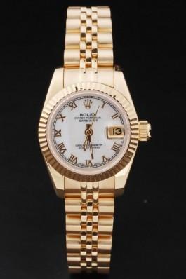 Gold Top Quality Rolex Swiss Mechanism Gold Luxury Watch 5321 Replica Rolex Datejust