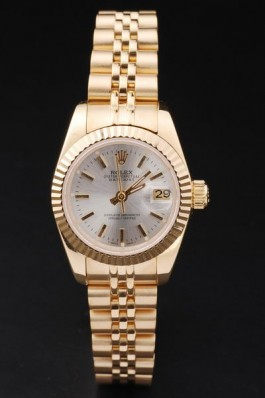 Gold Top Quality Gold Datejust Swiss Mechanism Luxury Watch 5322 Replica Rolex Datejust
