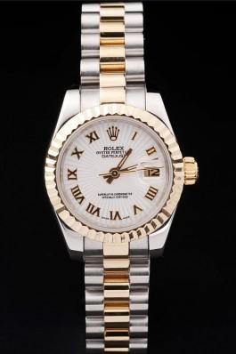 Gold Top Quality Rolex Gold Swiss Mechanism Luxury Watch 5323 Replica Rolex Datejust