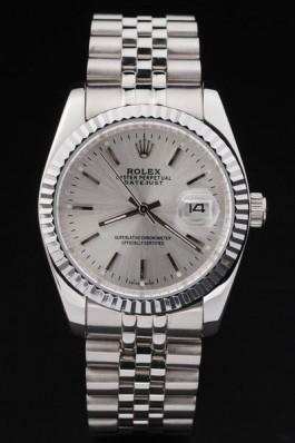 Swiss Mechanism Top Quality Rolex Silver Luxury Watch 5340 Replica Rolex Datejust