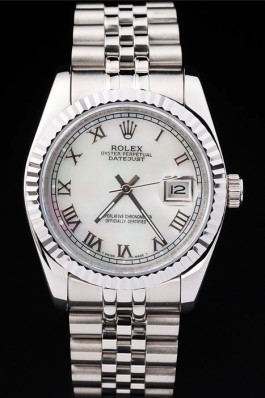 Stainless Steel Band Top Quality Rolex Silver Swiss Mechanism Luxury Watch 5343 Replica Rolex Datejust