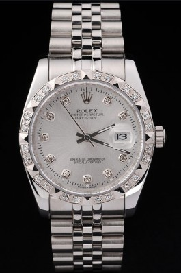 Stainless Steel Band Top Quality Silver Datejust Swiss Mechanism Luxury Watch 5345 Replica Rolex Datejust