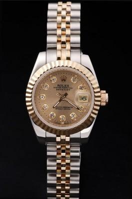 Gold Top Quality Rolex Swiss Mechanism Gold Luxury Watch 5363 Replica Rolex Datejust
