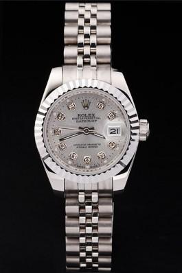 Swiss Mechanism Top Quality Rolex Silver Luxury Watch 5364 Replica Rolex Datejust