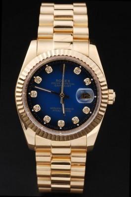 Gold Top Quality Gold Datejust Swiss Mechanism Luxury Watch 5368 Replica Rolex Datejust