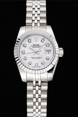 Datejust Swiss Top Quality Silver Mechanism Luxury Watch 5382 Replica Rolex Datejust