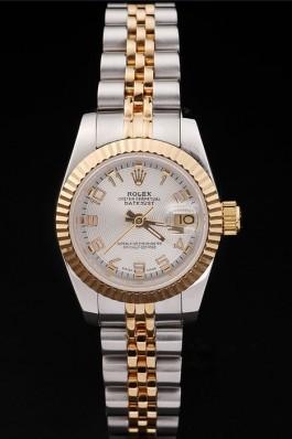 Gold Top Quality Gold Datejust Swiss Mechanism Luxury Watch 5384 Replica Rolex Datejust