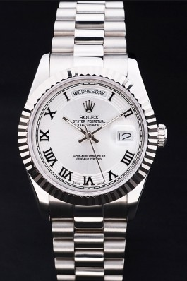 Stainless Steel Band Top Quality Rolex Day-Date Luxury Watch 185 5111 Rolex Replica Aaa