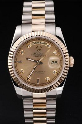 Gold Top Quality Rolex Swiss Mechanism Gold Luxury Watch 5361 Rolex Replica Aaa