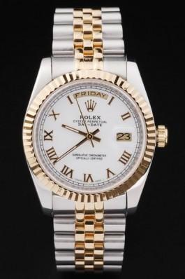 Silver Swiss Top Quality Rolex Mechanism Luxury Watch 5375 Rolex Replica Aaa