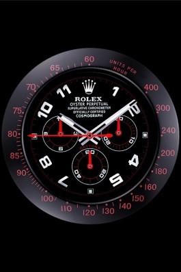 Rolex Daytona Cosmograph Wall Clock Black-Red 621908 Rolex Daytona Replica