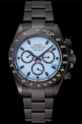 Rolex Daytona Midnight Blue Dial Black Staineless Steel Bracelet 1454022 Rolex Daytona Replica