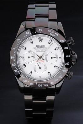 Black Stainless Steel Band Top Quality Rolex Luxury Watch 106 5067 Rolex Daytona Replica