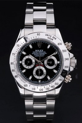 Stainless Steel Band Top Quality Silver Daytona Luxury Watch 5252 Rolex Daytona Replica