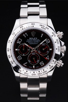 Stainless Steel Band Top Quality Rolex Silver Luxury Watch 5258 Rolex Daytona Replica