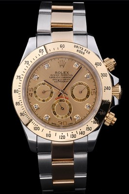 Stainless Steel Band Top Quality Rolex Gold Luxury Watch 5259 Rolex Daytona Replica