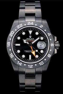 Rolex Explorer Black Ceramic Bezel Black Dial Watch 2385 Replica Rolex