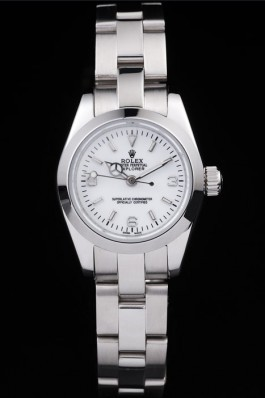 Rolex Explorer Polished Stainless Steel White Dial 98088 Replica Rolex