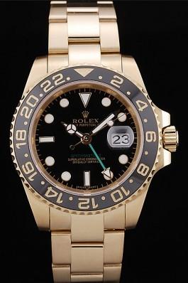 Rolex GMT Master II Black Ceramic Bezel Black Dial 98228 Rolex Replica Gmt