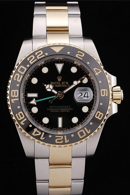 Rolex GMT Master II Black Ceramic Bezel Black Dial 98229 Rolex Replica Gmt