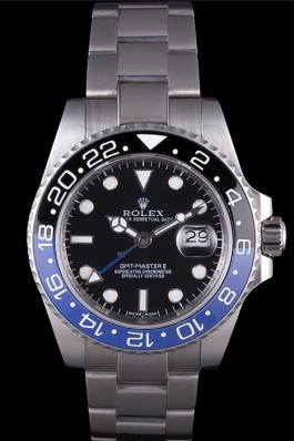 Rolex GMT-Master II Oyster Collection Brushed Stainless Steel Band 621492 Rolex Replica Gmt