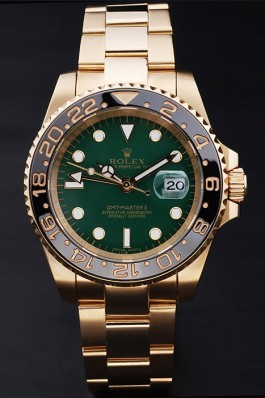 Gold Stainless Steel Band Top Quality Rolex Master II Gold Luxury Watch 169 5098 Rolex Replica Gmt