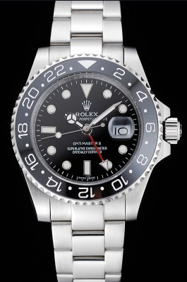 Stainless Steel Band Top Quality Rolex Master II Silver Luxury Watch 5273 Rolex Replica Gmt