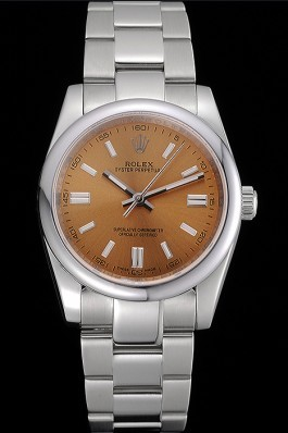 Rolex Oyster Perpetual DateJust Stainless Steel Case Champagne Dial Stainless Steel Bracelet 622639 Replica Rolex Datejust
