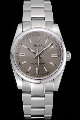 Rolex Oyster Perpetual DateJust Stainless Steel Case Silver Dial Stainless Steel Bracelet 622640 Replica Rolex Datejust