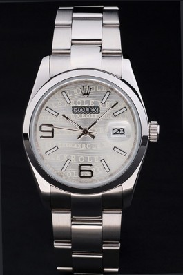 Stainless Steel Band Top Quality Rolex Luxury Watch 186 5112 Rolex Watch Replica