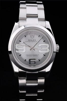 Stainless Steel Band Top Quality Rolex Silver Luxury Watch 5247 Rolex Watch Replica