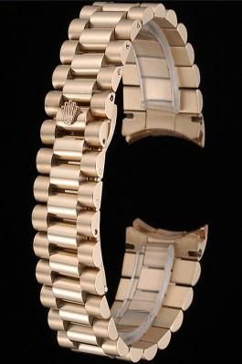 Rolex Polished and Brushed Gold Bracelet 622490 Replica Rolex Bracelet