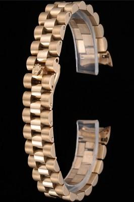 Rolex Polished and Brushed Gold Bracelet 622491 Replica Rolex Bracelet