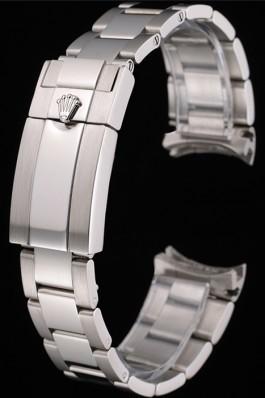 Rolex Polished and Brushed Stainless Steel Link Bracelet 622492 Replica Rolex Bracelet
