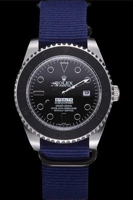 Rolex Stealth Submariner Blue 621989 Rolex Submariner Replica