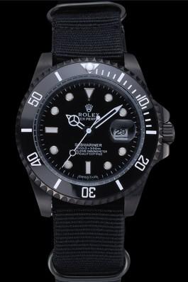 Rolex Submariner Black Nylon Strap 622006 Rolex Submariner Replica
