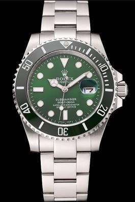 Rolex Submariner Green Dial Stainless Steel Bracelet 1454069 Rolex Submariner Replica