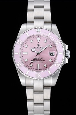 Rolex Submariner Lilas Dial Stainless Steel Bracelet 1454155 Rolex Submariner Replica