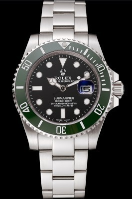 Stainless Steel Band Top Quality Rolex Silver Luxury Watch 104 5066 Rolex Submariner Replica