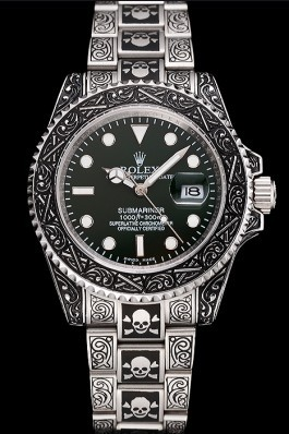 Rolex Submariner Skull Limited Edition Green Dial Vintage Case And Bracelet 1454079 Rolex Submariner Replica