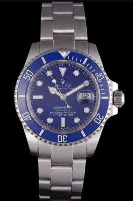 Rolex Submariner Stainless Steel Link Bracelet Blue Dial 621687 Rolex Submariner Replica