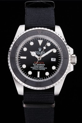 Rolex Submariner STEALTH MK IV Black Fabric Band rl424 621386 Rolex Submariner Replica