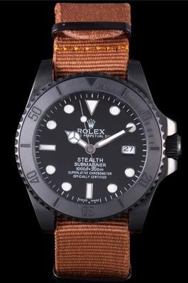 Rolex Submariner STEALTH MK IV Brown Fabric Band rl426 621388 Rolex Submariner Replica