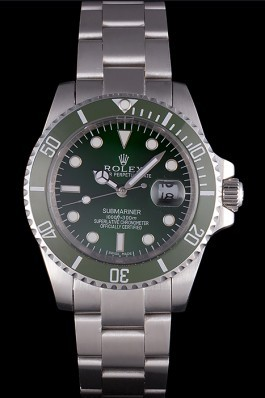 Stainless Steel Band Top Quality Rolex Silver Swiss Mechanism Luxury Watch 5356 Rolex Submariner Replica