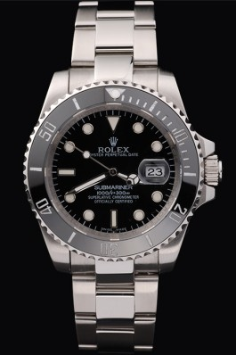 Stainless Steel Band Top Quality Silver Submariner Swiss Mechanism Luxury Watch 5360 Rolex Submariner Replica