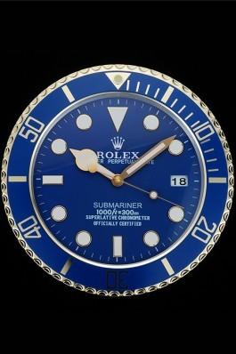 Rolex Submariner Wall Clock Blue 622475 Rolex Submariner Replica